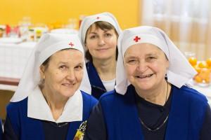 Служение сестер «Красного Креста»