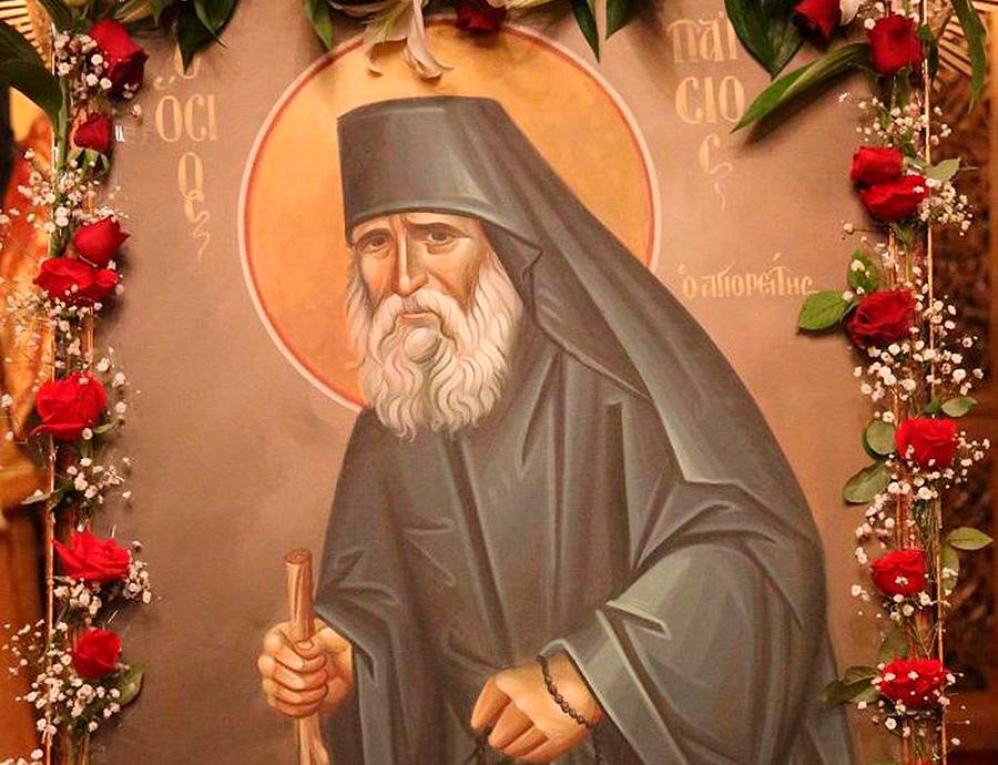 Икона-святого-Паисия-Святогорца