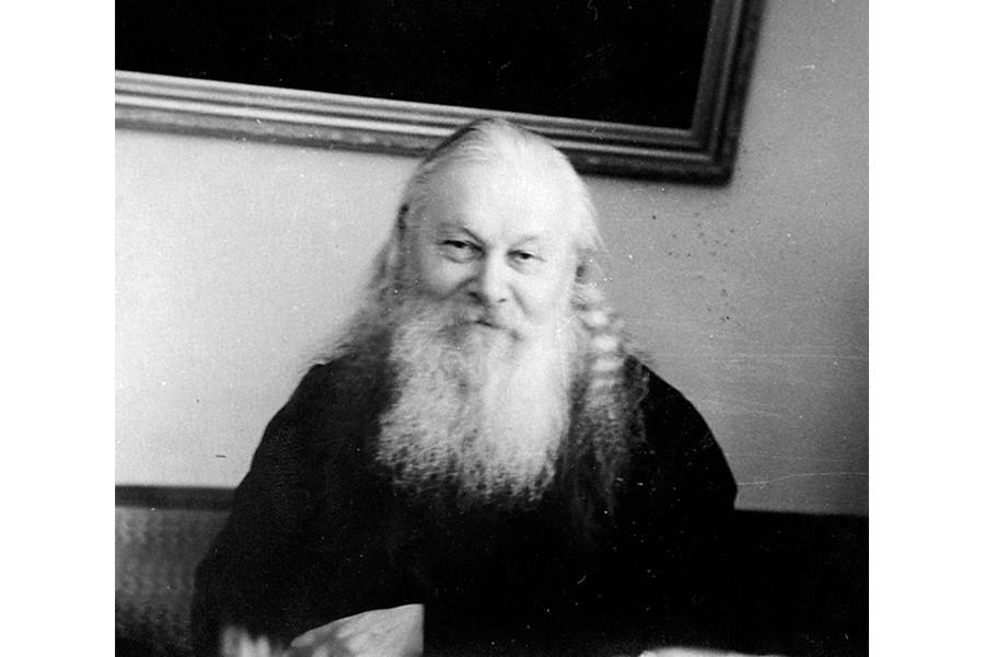 Архимандрит Гурий (Егоров), первый наместник Лавры по открытии обители апрель 1946
