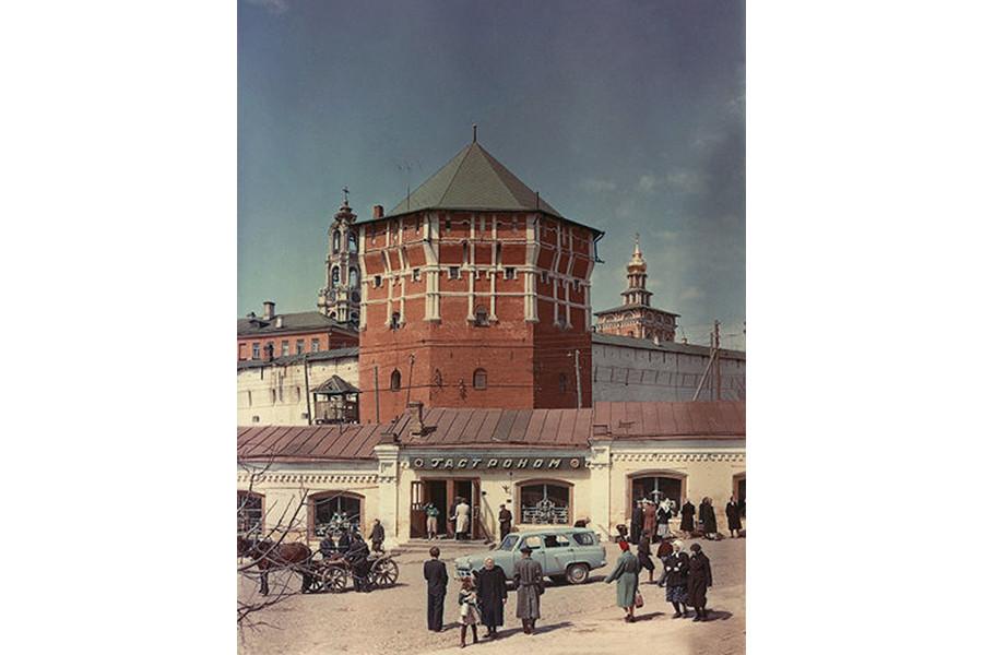 Загорск (Сергиев-Посад) в 1950-е годы