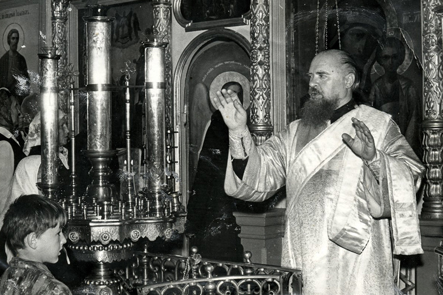 Протодиакон Сергий Боскин