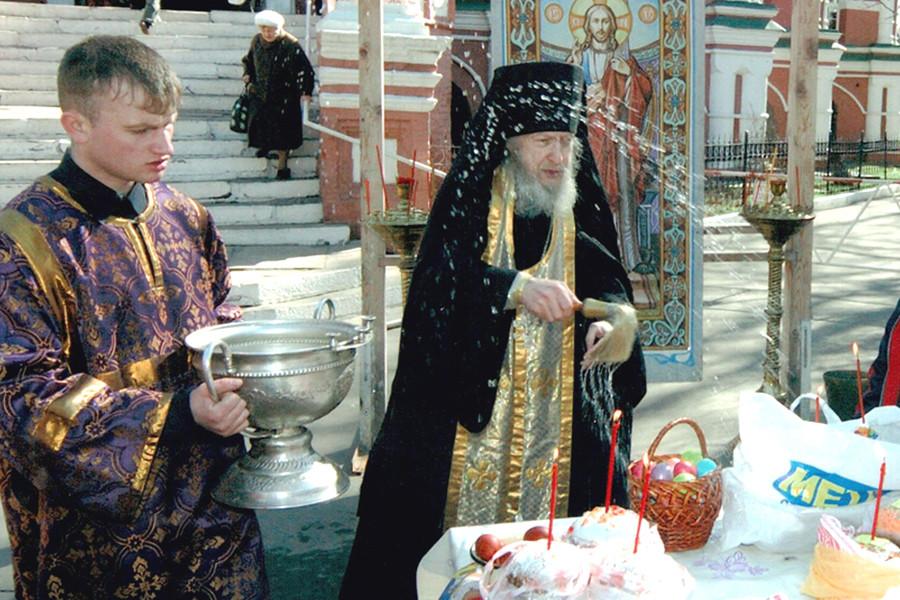 Отец Валентин (Гуревич) Донской монастырь