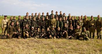 Участники-военно-патриотического-лагеря