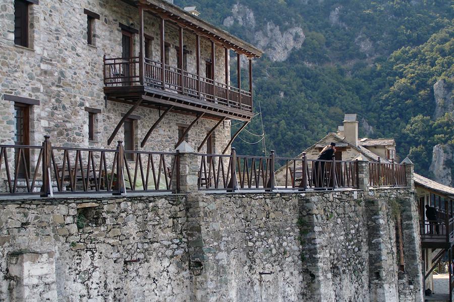 В монастыре святого Павла