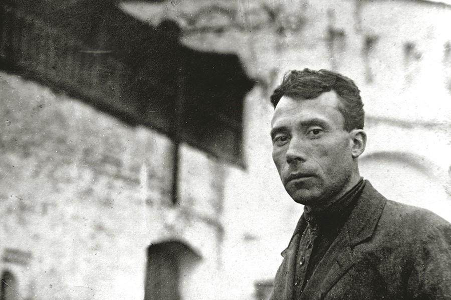 Директор Калязинского музея Иван Федорович Никольский
