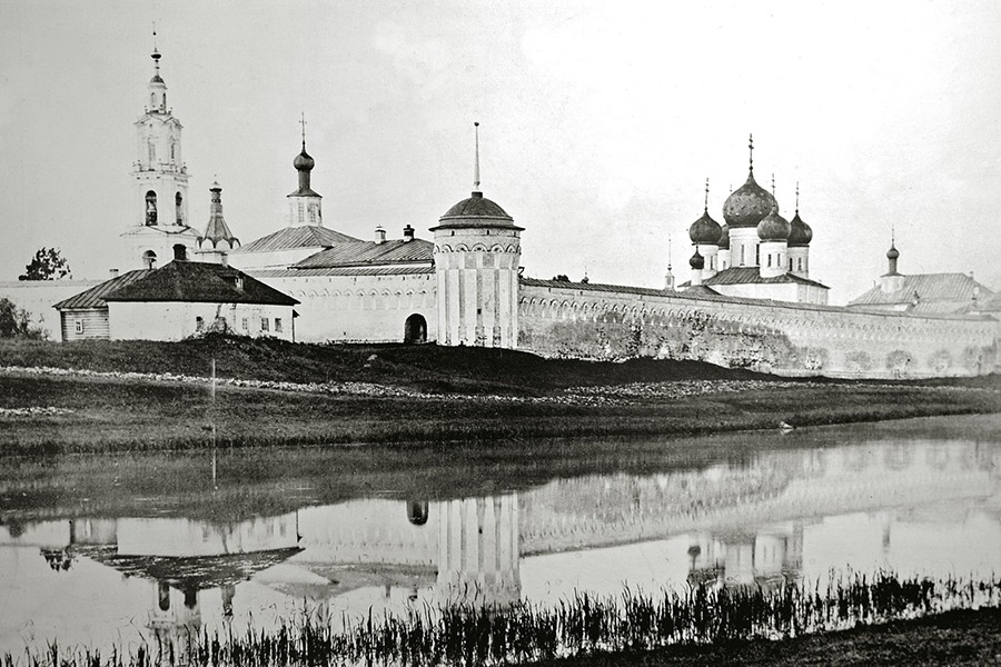 Троицкий Калязинский монастырь, начало 20 века