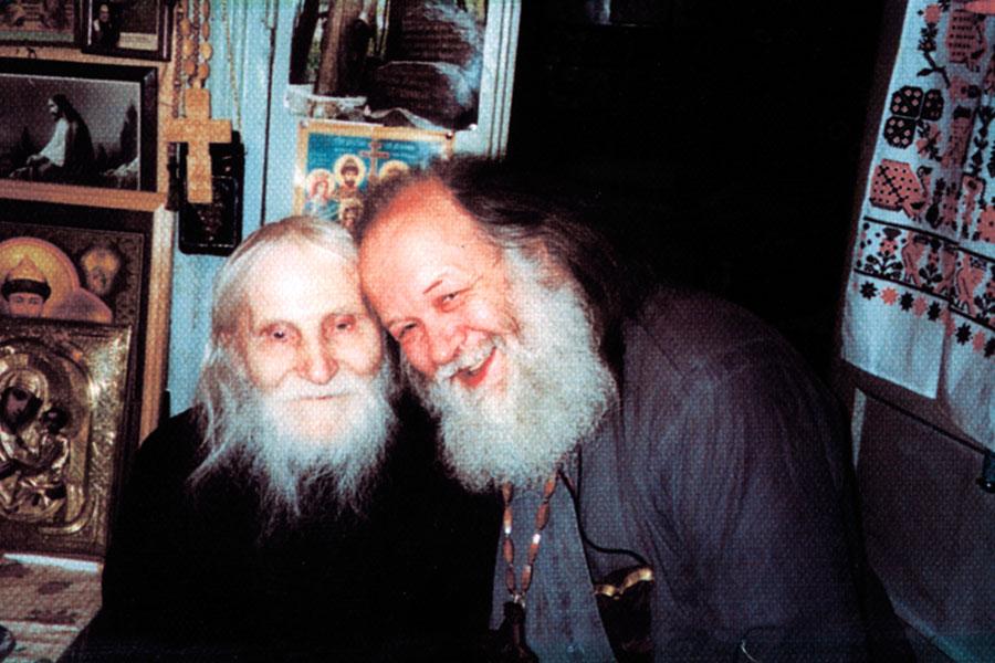Старец Николай Гурьянов и отец Валериан