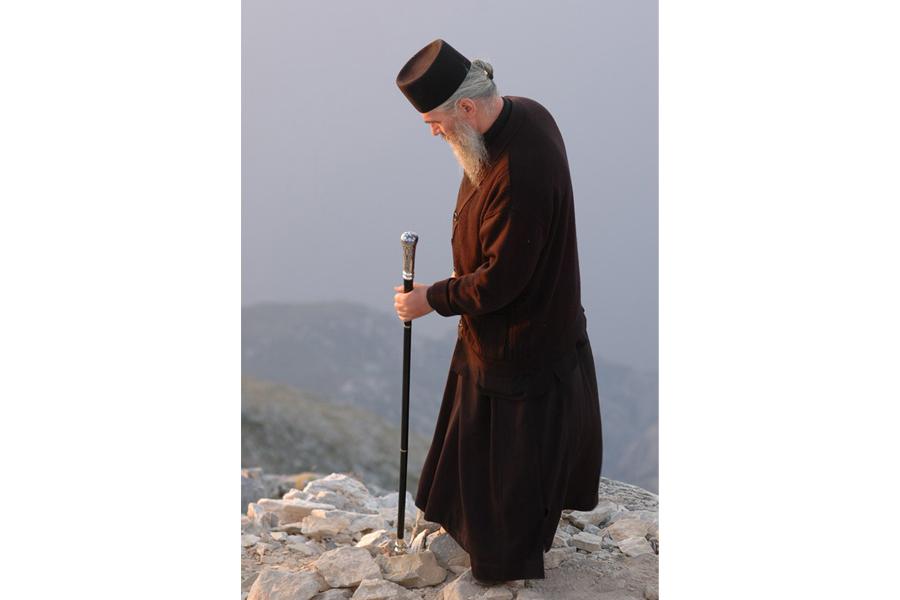 Афонский монах