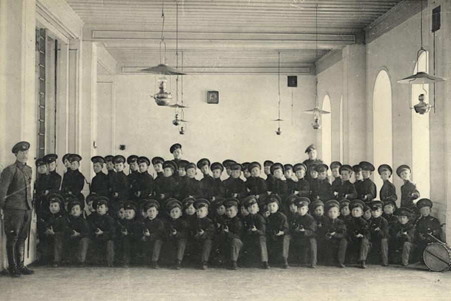 Владимирская губернская мужская гимназия. Рота потешных