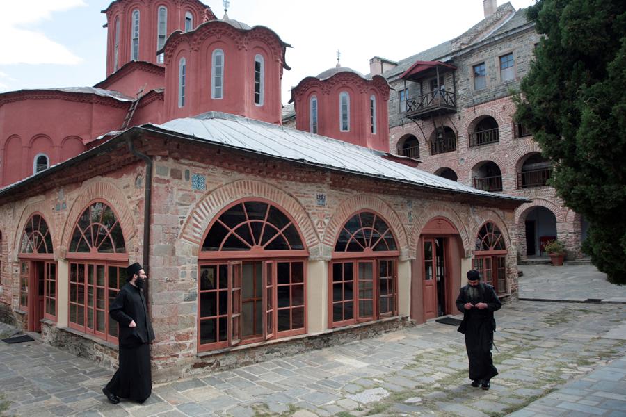 Монастырь Кутлумуш Афон