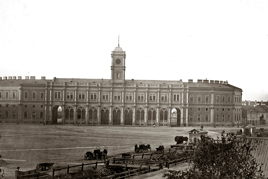 Николаевский вокзал в Санкт-Петербурге