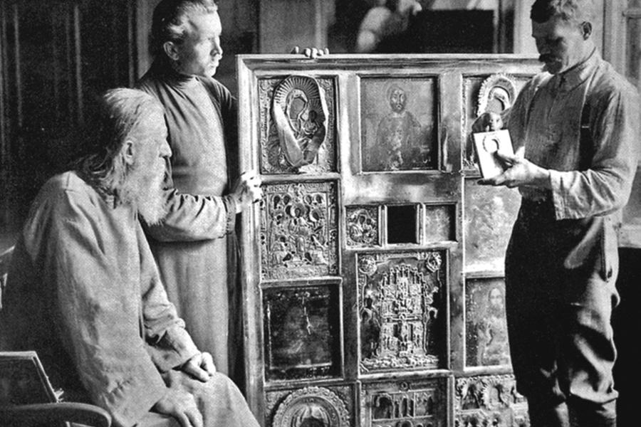Изъятие церковных ценностей