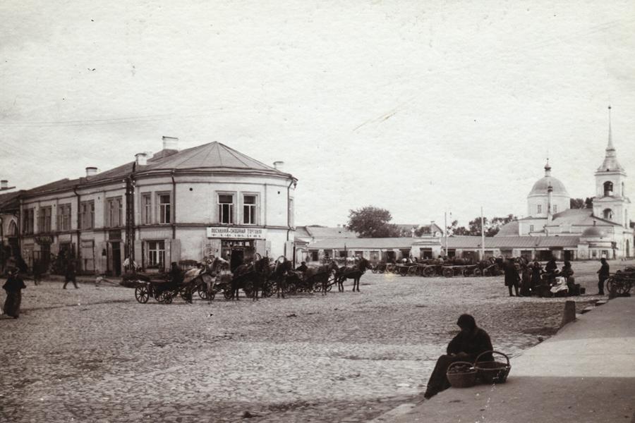 Толкучий рынок в Твери
