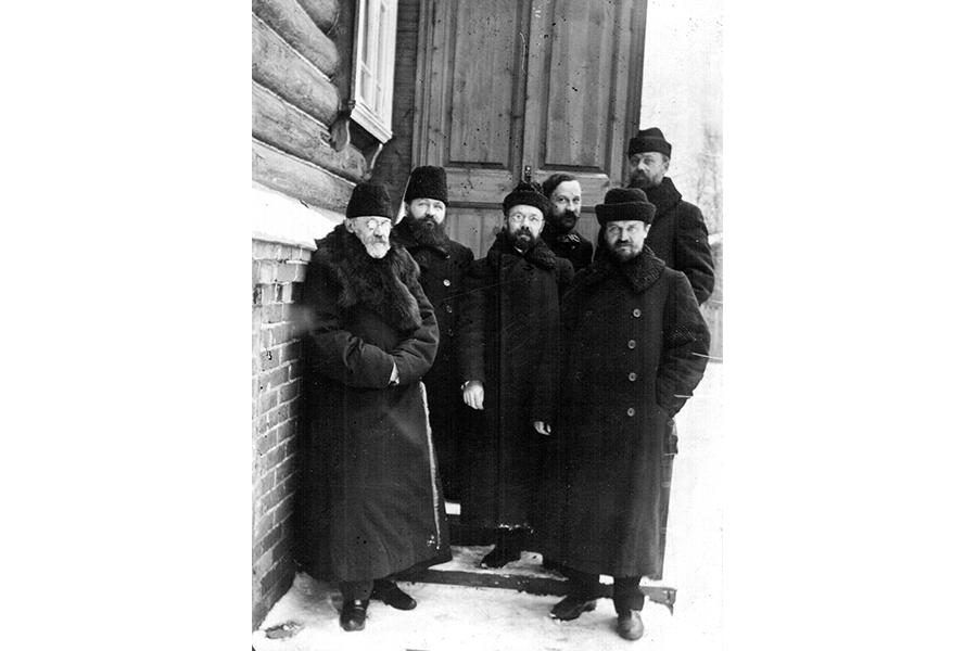 Преподаватели Московской духовной академии 1909