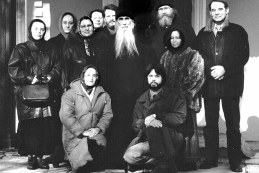 Встреча редакции со старцем Кириллом в 1998 году