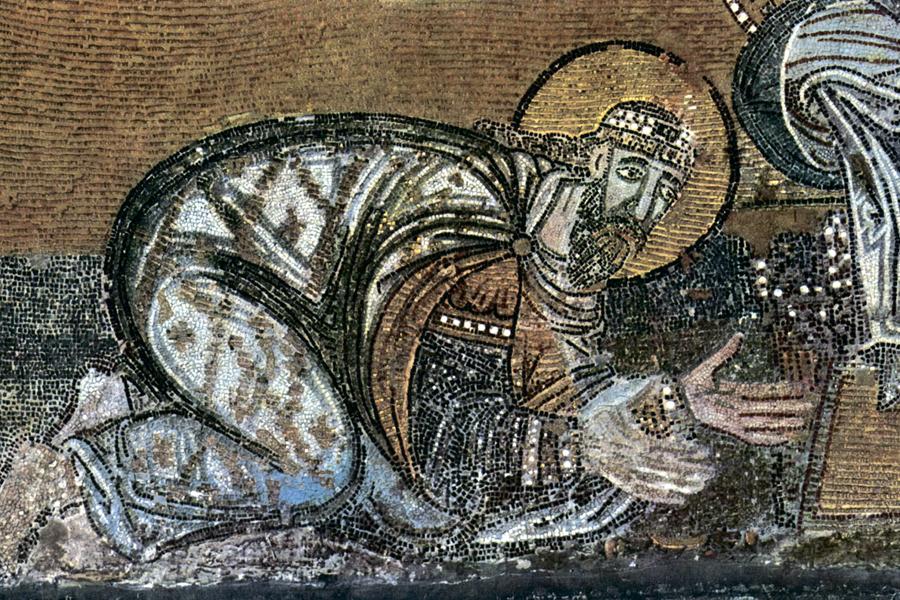 Император Лев перед Христом