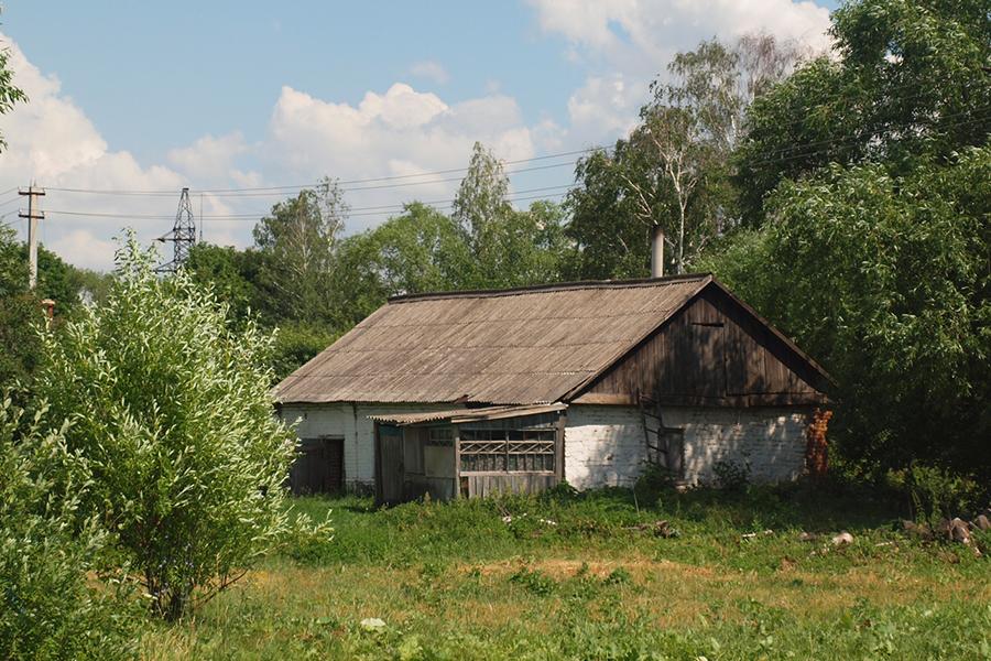 В этом доме родился Семен Антонов, в последствии прославленный как Преподобный Силуан Афонский