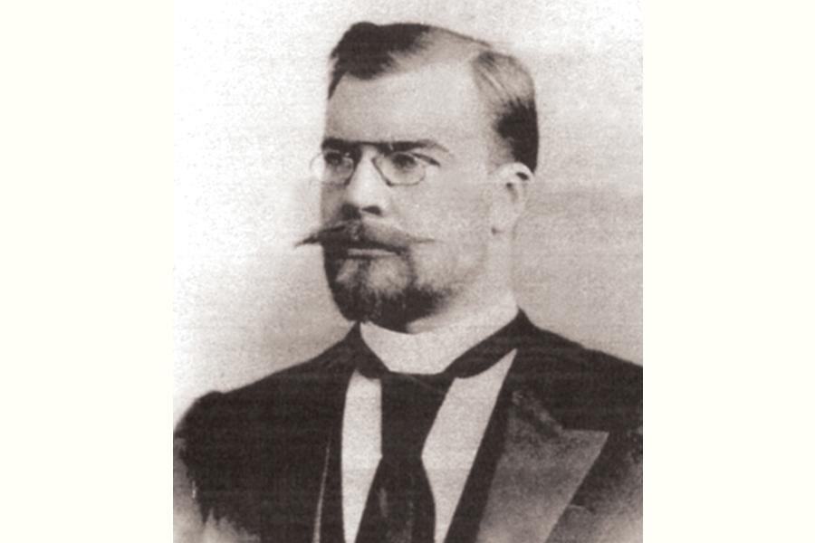 Александр Николаевич Коншин в 1900 году