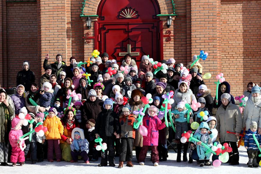 Центр Покров организует многочисленные детские праздники