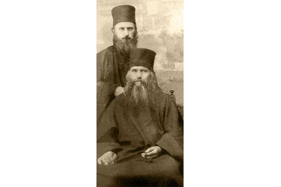 Преподобный Силуан Афонский и его ученик архимандрит Софроний (Сахаров)