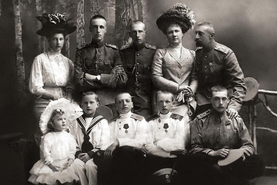 Семья великого князя Константина Константиновича