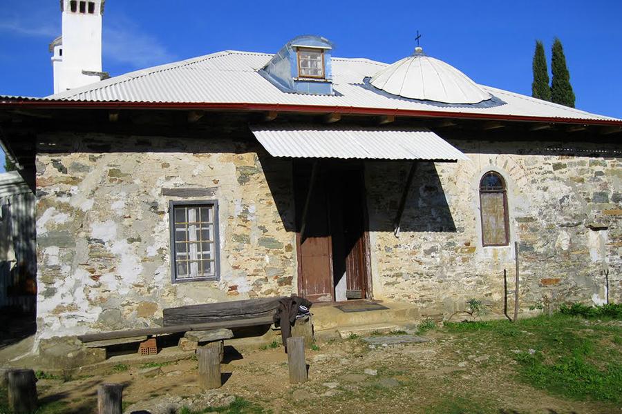 Келья преподобного Паисия в Панагуде