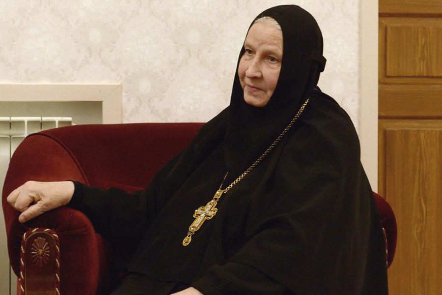 Матушка игумения Георгия (Щукина) 2015 год