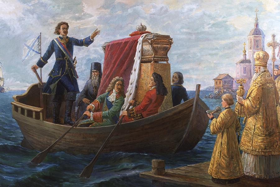 Перенесение мощей святого Александра Невского