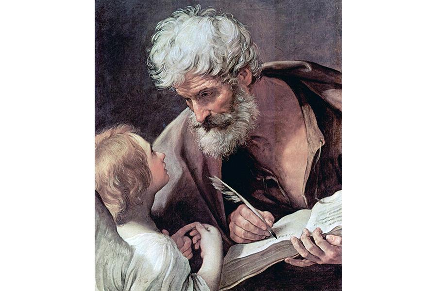 Гвидо Рени. Евангелист Матфей и Ангел. 1630–1640
