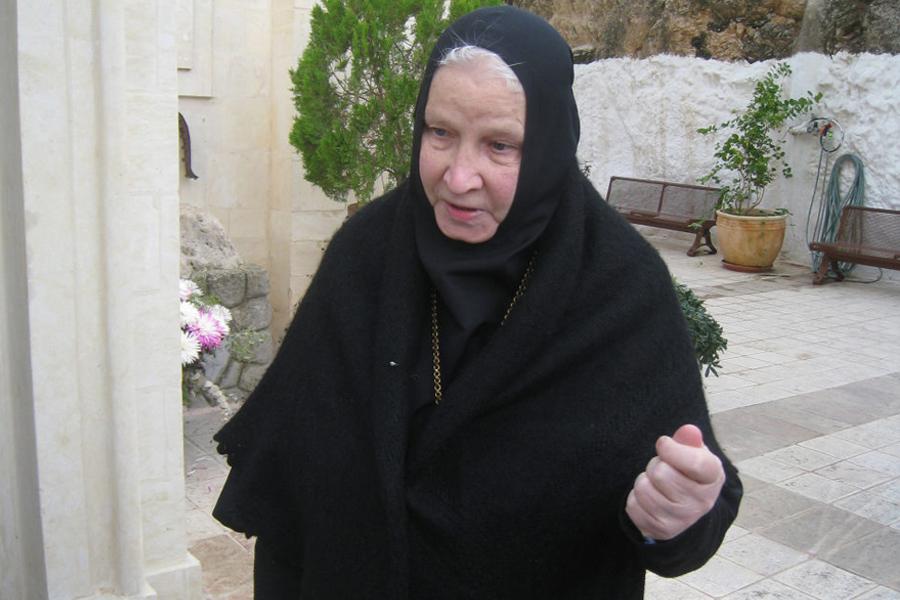Матушка Георгия в Горненском монастыре