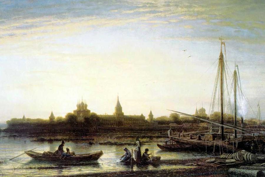 Ипатьевский монастырь близ Костромы, 1861 год