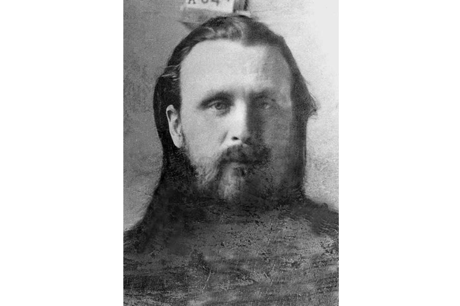 Святитель Иларион, тюремное фото