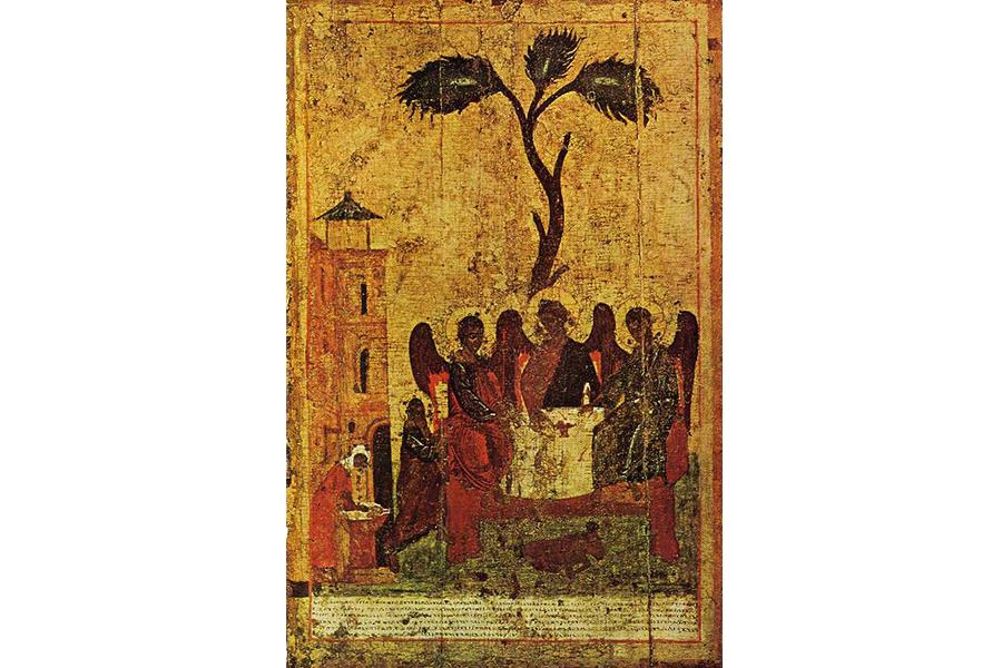 Зырянская Троица, икона, написанная святителем Стефаном Великопермским