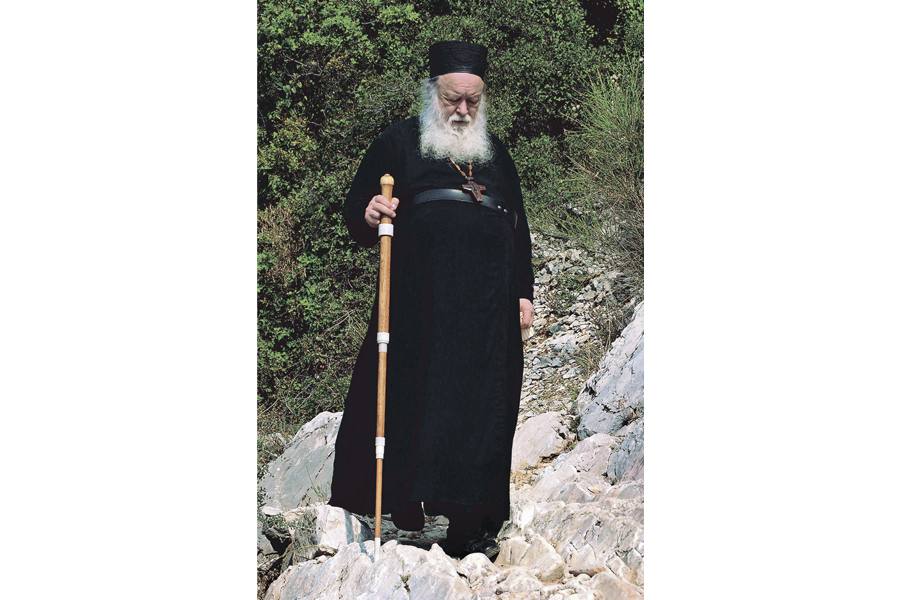 Протоиерей Валериан Кречетов на Святой Горе Афон