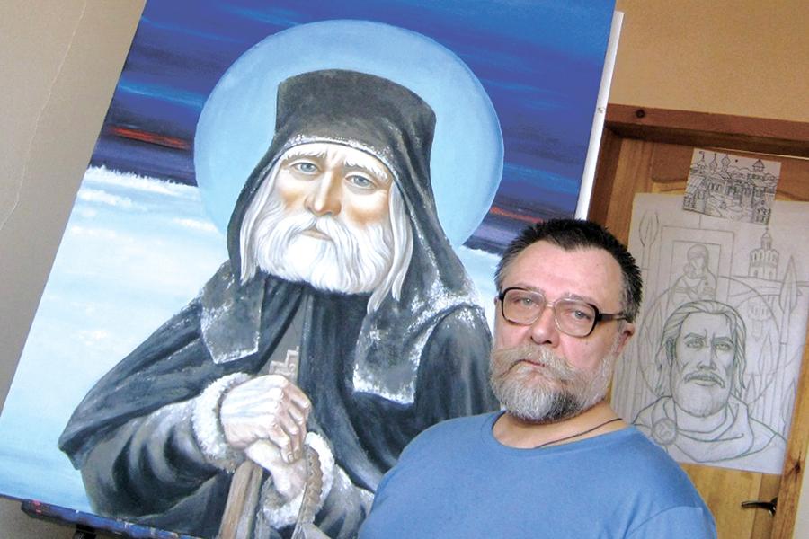 Василий Владимирович Дворцов, поэт и прозаик, художник, реставратор