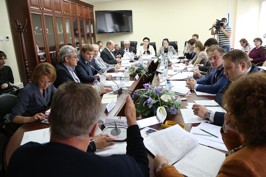 Заседание Комитета по жилищной политике и ЖКХ Госдумы РФ шестого созыва