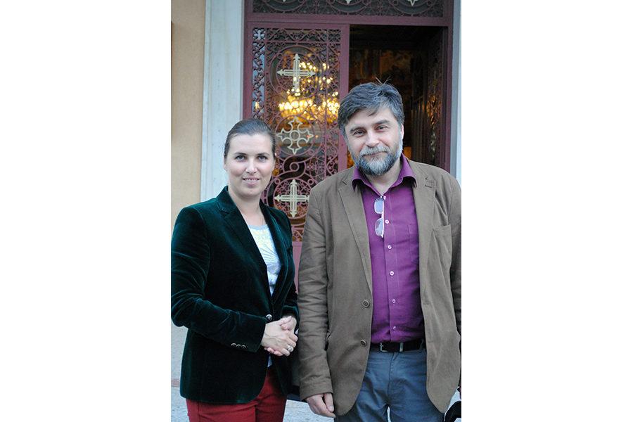 Инна Орлова с Андреем Остапенко