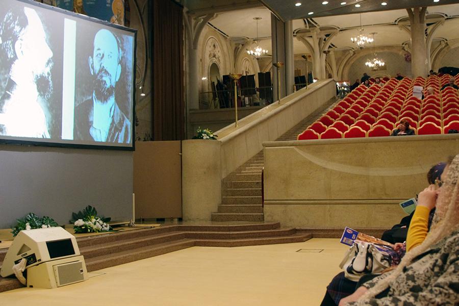 Фильм о протоиерее Глебе Каледе, на экране священномученик Владимир Амбарцумов