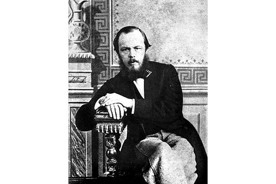 Федор Достоевский в 1863 году