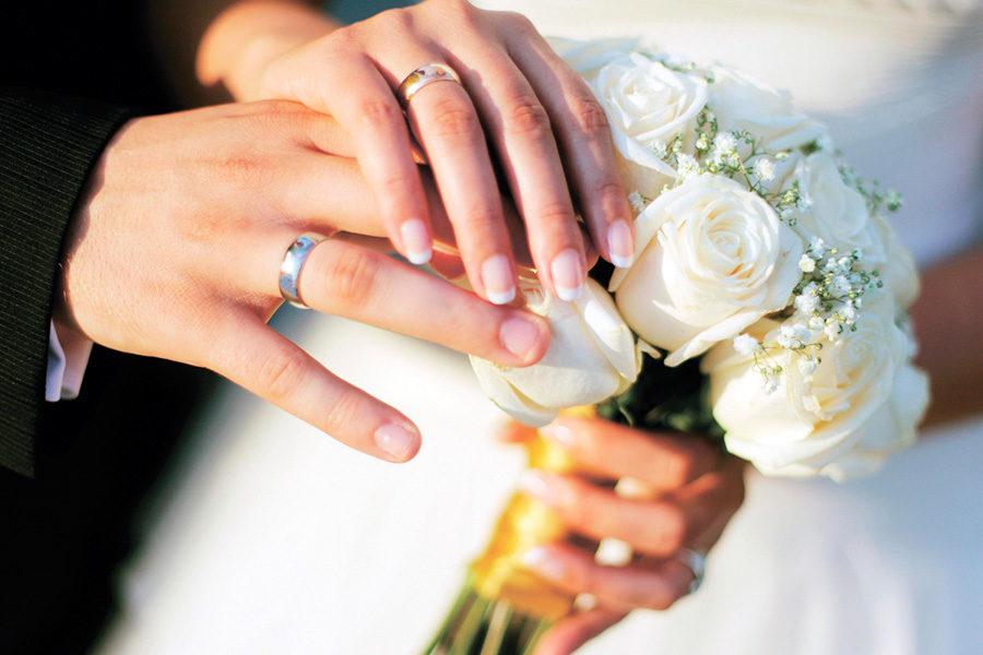 Венчание Кольца серебряное и золотое