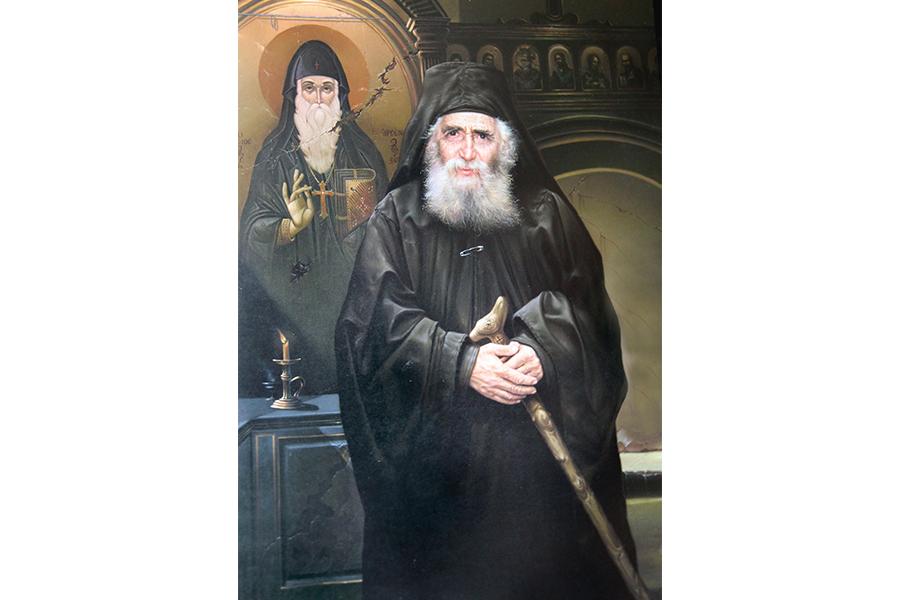 Паисий Святогорец в живописных произведениях