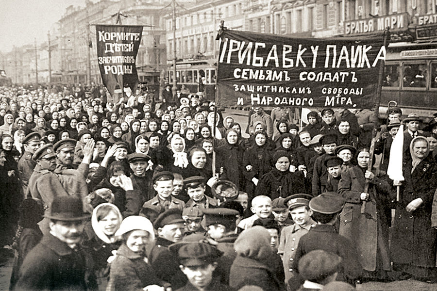 Начало революции 8 марта