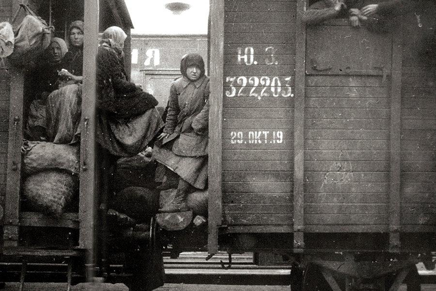 1919 год октябрь