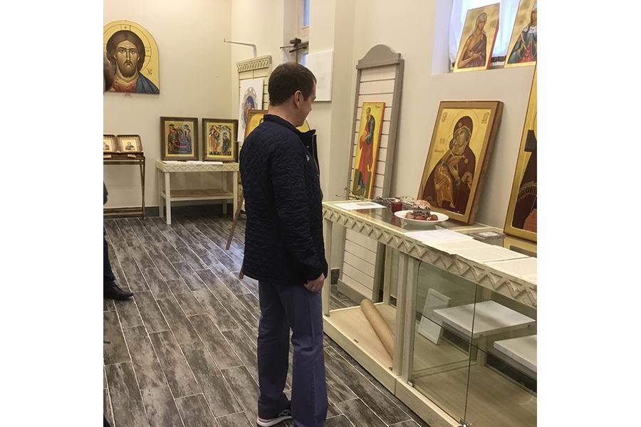 Посещение музея Дмитрием Медведевым