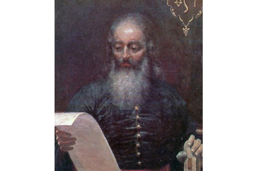 Иван Федоров С картины Томашевича, 1904