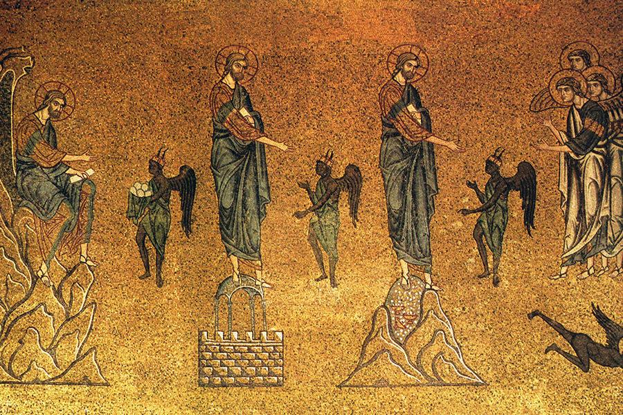 Три искушения Иисуса Христа
