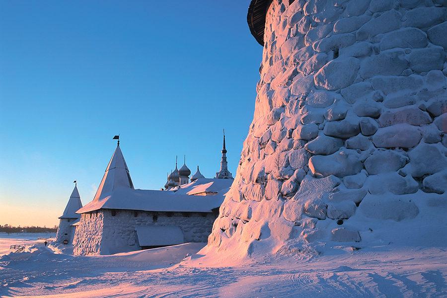 Зима на Соловках