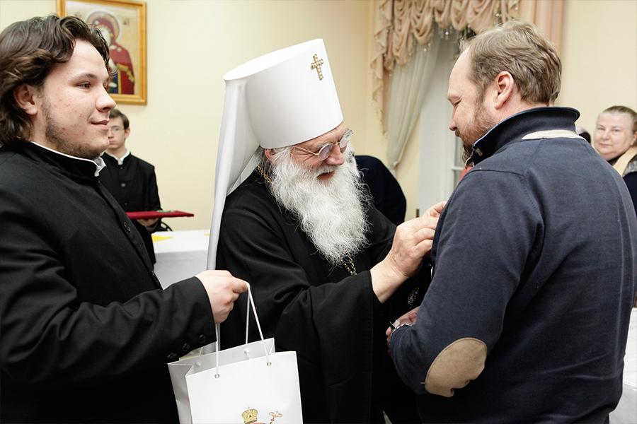 Награждение Александра Костюченко