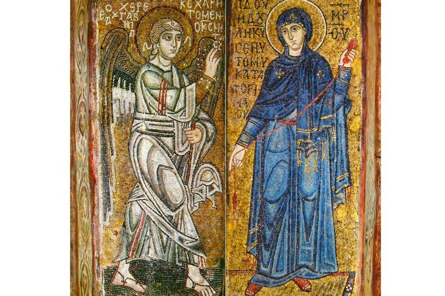 Благовещение Пресвятой Богородицы Мозаика