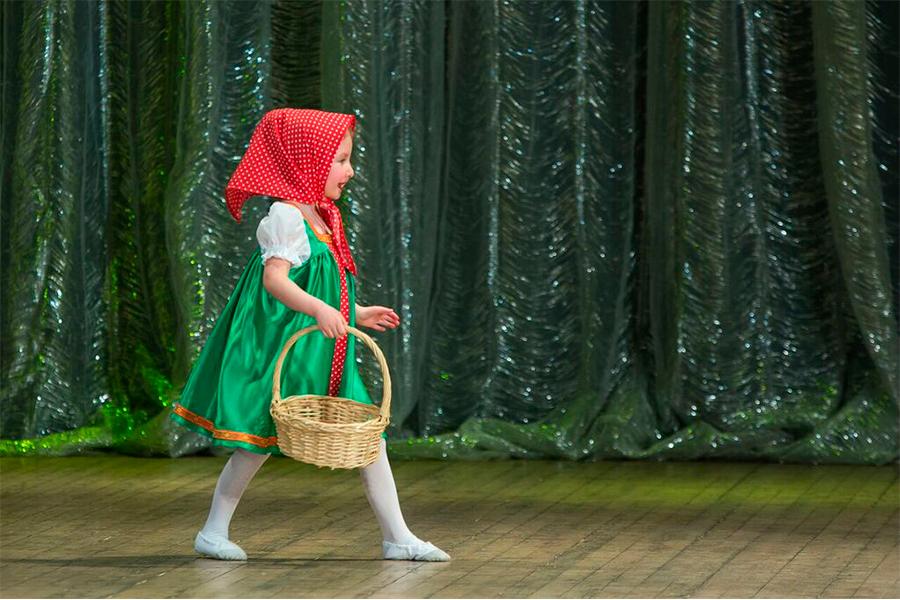 Мария Киселева в танце, победившем в танцевальном марафоне детских коллективов в Красногорске